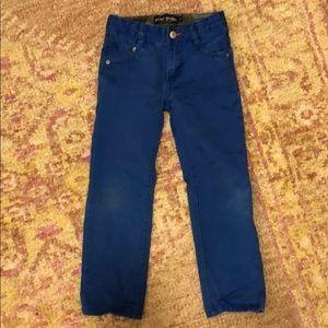 Mini Boden royal blue slim jeans size 6